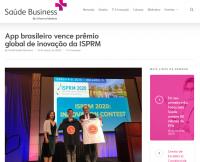 App brasileiro vence prêmio global de inovação da ISPRM