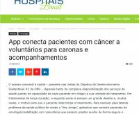 Hey Amigo no Portal Hospitais Brasil